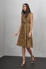 Python chiffon dress