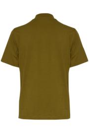 Ichi - Rania T-shirt Fir green