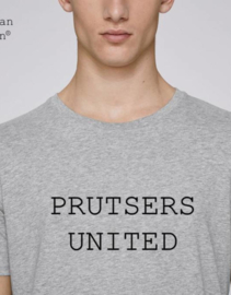 MuZ - T-shirt  Prutsers United (lichtgrijs)