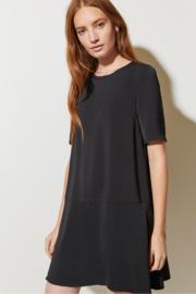GP - Elegant drape peplum dress