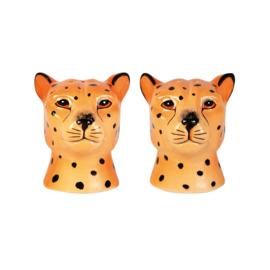 &k - Peper- en zoutstel leopard