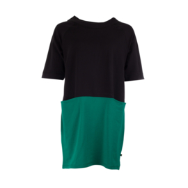Oy-di - Sweater dress Jill black/green