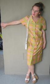 Sixties jurkje in fluokleuren (38/40)
