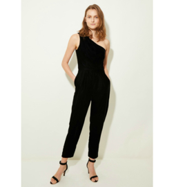 GP -Velvet black jumpsuit