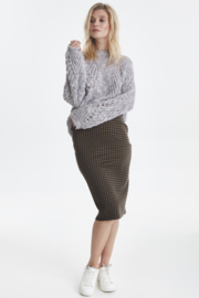 ichi - Kate houndstooth skirt