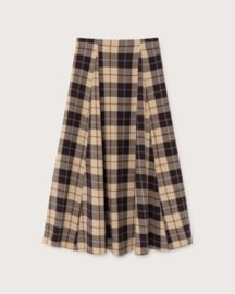 Thinking Mu - Big Checks Rati skirt