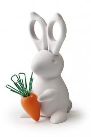 Desk Bunny met schaar