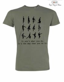 MuZ - T-shirt It ain't what you do...