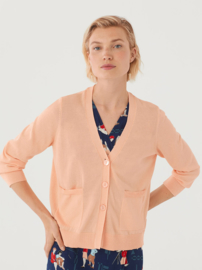 Nice Things - Basic V-neck cardigan pink