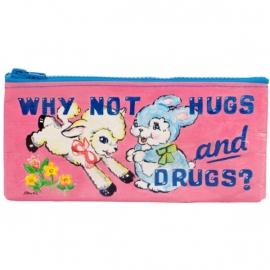 Blue Q pennezak - Hugs & drugs