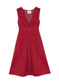 Compania Fantastica - Red Pinafore dress