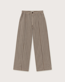 Thinking Mu -  Small Checks Maia pants