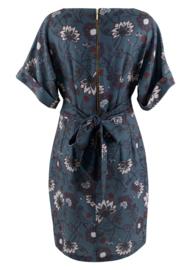 Kimono wiggle dress