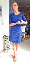 dress Yoko geometric jersey
