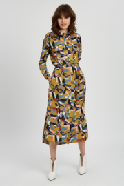 TP - Cagney midi dress mustard