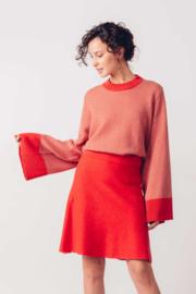 SKFK - Tirtsa skirt red