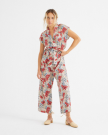Thinking Mu - Small Flowers Malawi Jumpsuit