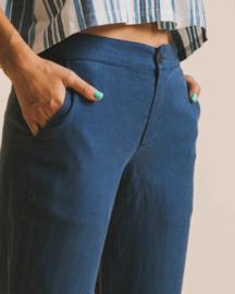 Thinking Mu - Blue Hemp Dafne Pant