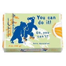 Zeepje van Blue Q - You can do it