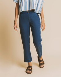 Thinking Mu - Blue Hemp Dafne Pant
