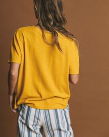 Thinking Mu - Hemp T-shirt Mustard