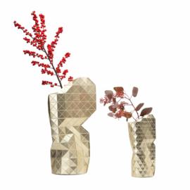 Paper Vase Cover large - Gold