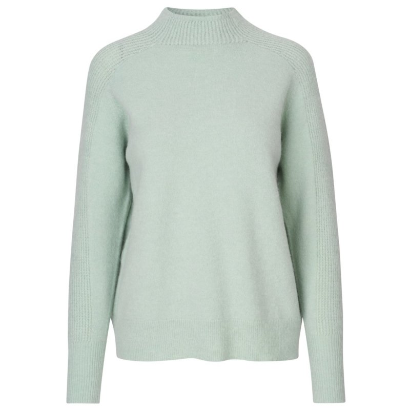 Levete Room - Cille sweater Frosty Green