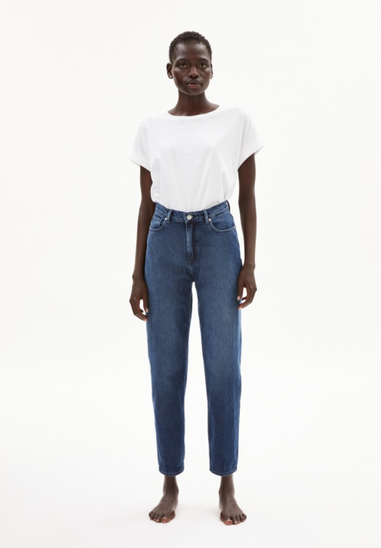 Armedangels - Mairaa Mom Fit jeans, Stone Wash