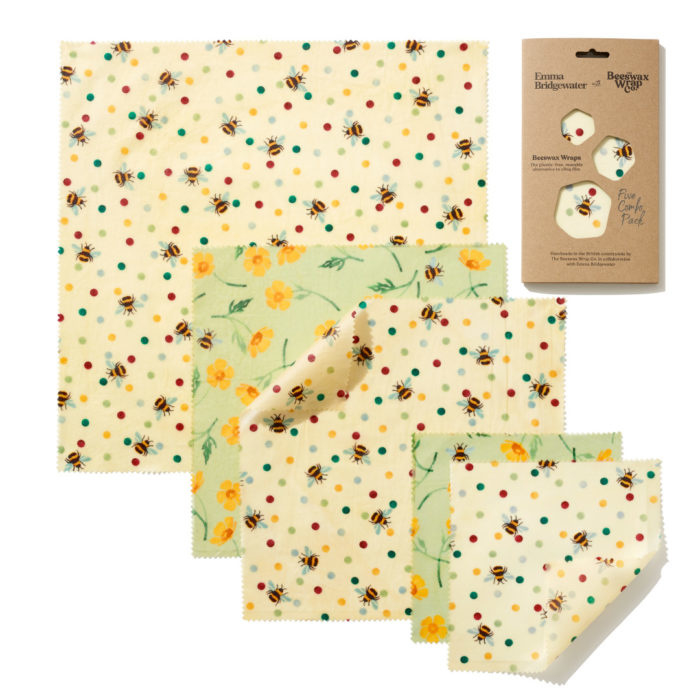 Beeswax - 5-pack Bees&Buttercups print