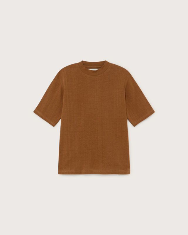 Thinking Mu - Caramel hemp Aidin T-shirt