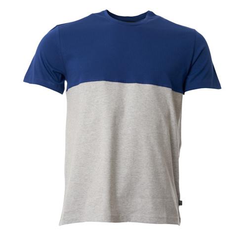 Munoman - T-shirt Bruce Hip blue- Grey