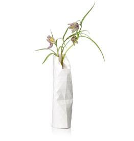 Paper Vase Cover small - Plain white