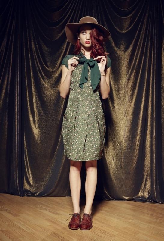 Corinne Bow dress