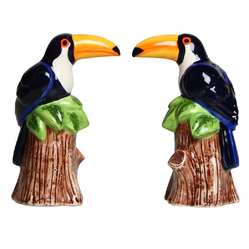 &k - Peper- en zoutstel toucan