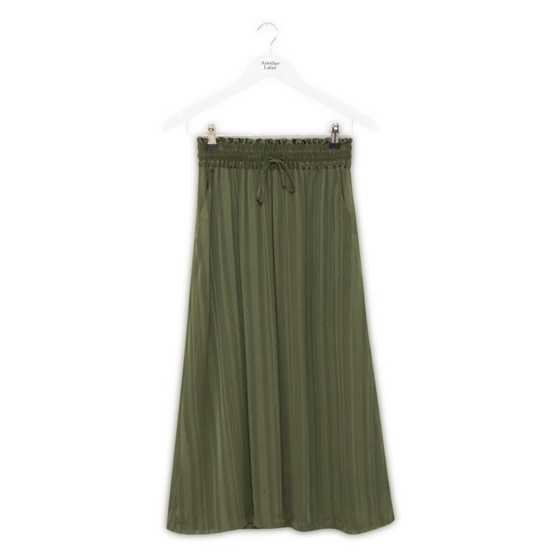 Another Label - Knapp skirt green