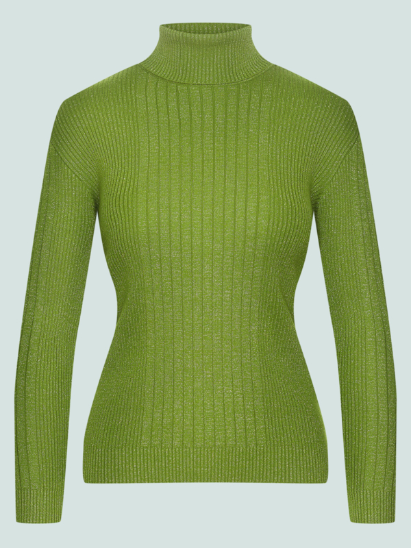 Yeye - Let's roll jumper green lurex
