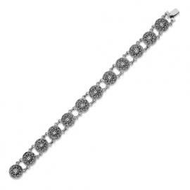 Zeeuwse knop armband in sterling zilver