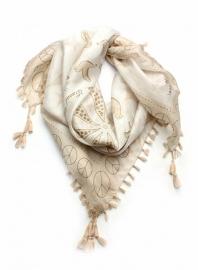 Exoal zijden sjaal