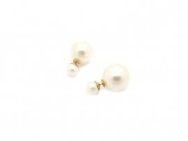 Double dots oorbellen