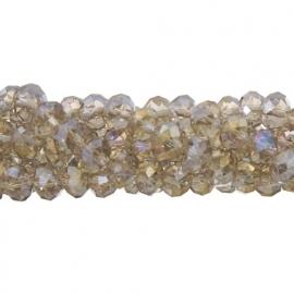 Crystal kralen 6 x 8 mm