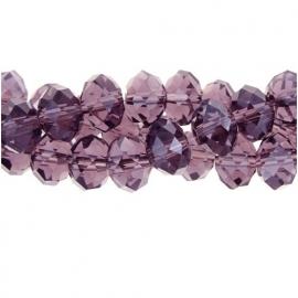 Crystal kralen 4 x 6 mm