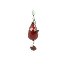 Kettinghanger 'red jaspis'