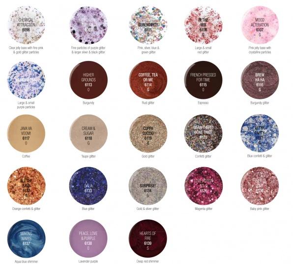 Cuccio Veneer kleurenkaart