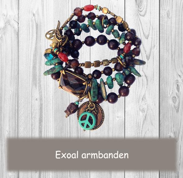 Exoal armbanden