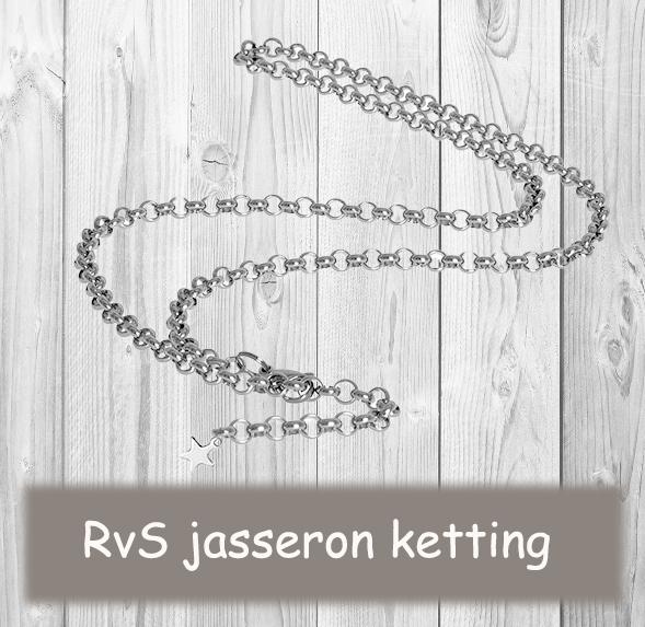 RvS jasseron ketting