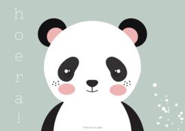 Kaart | mint | panda