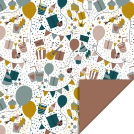 Kadopapier | party | 30 cm