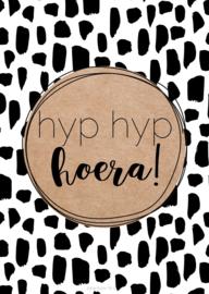 Kaart | Hyp hyp hoera!