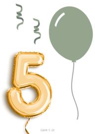 5 jaar! jongen