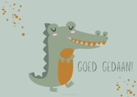 Kaart | mint | krokodil